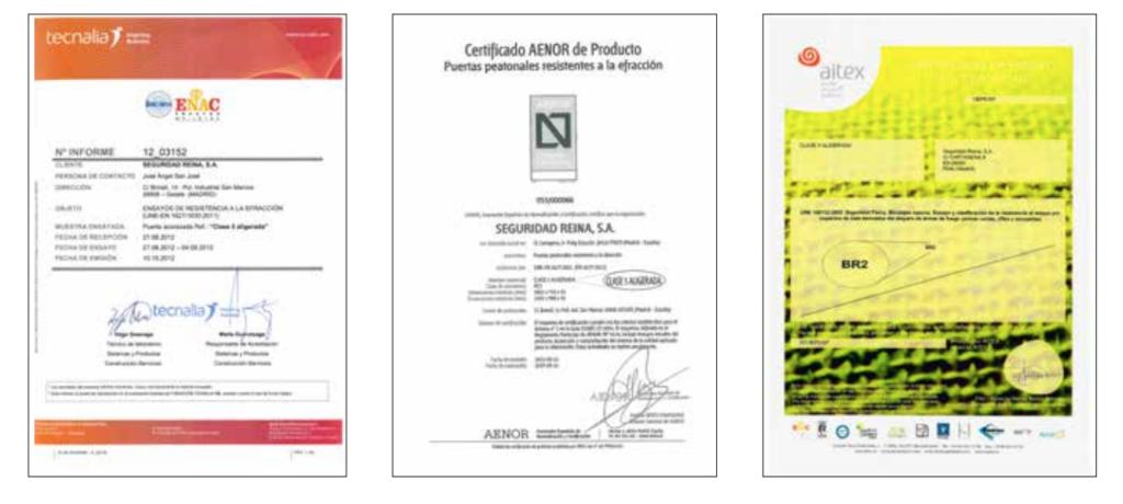 certificados grado v